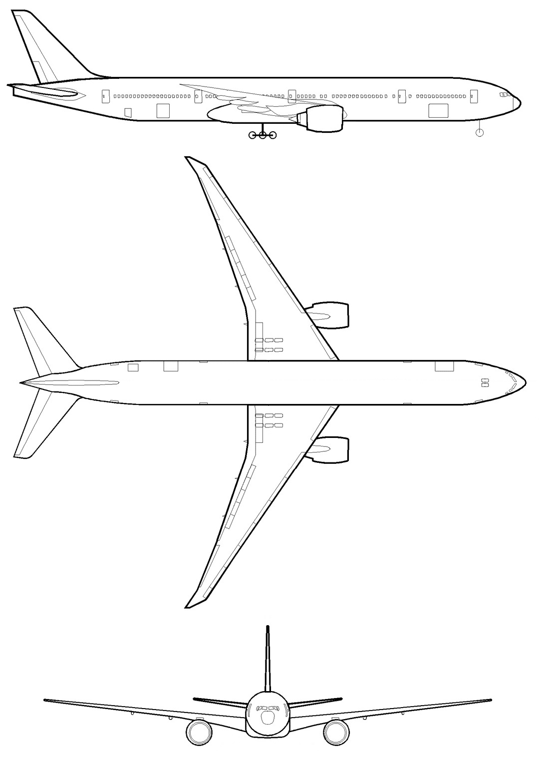 Схема посадочных мест боинг 777 200